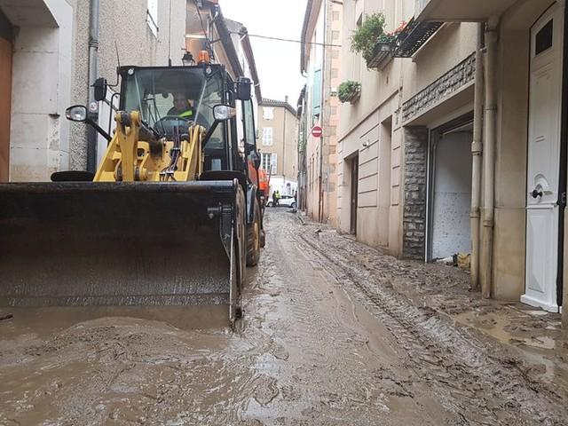 Tempête Gloria dans l'Aude : l'heure du grand nettoyage