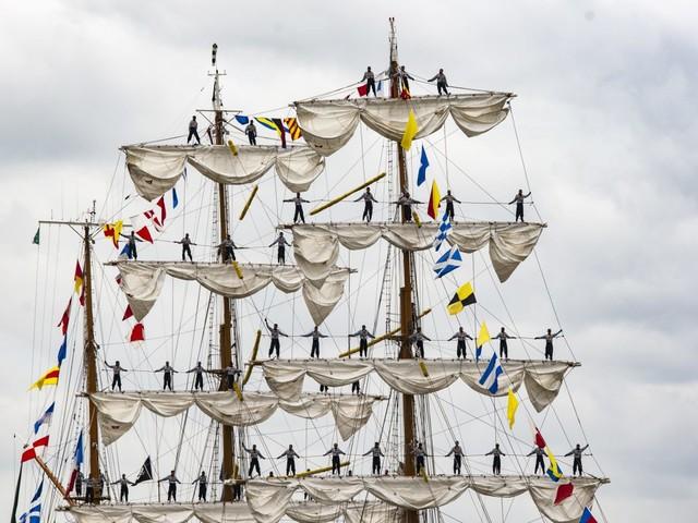 Un détour par Rouen pour l'Armada de la liberté
