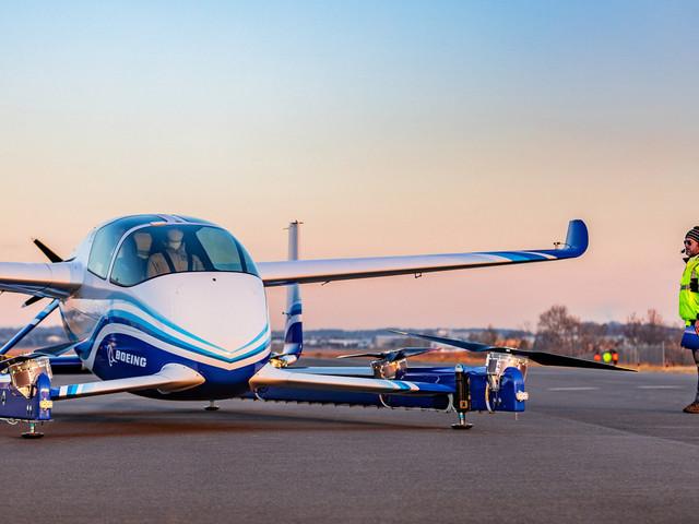 Premier vol réussi pour le taxi volant autonome de Boeing