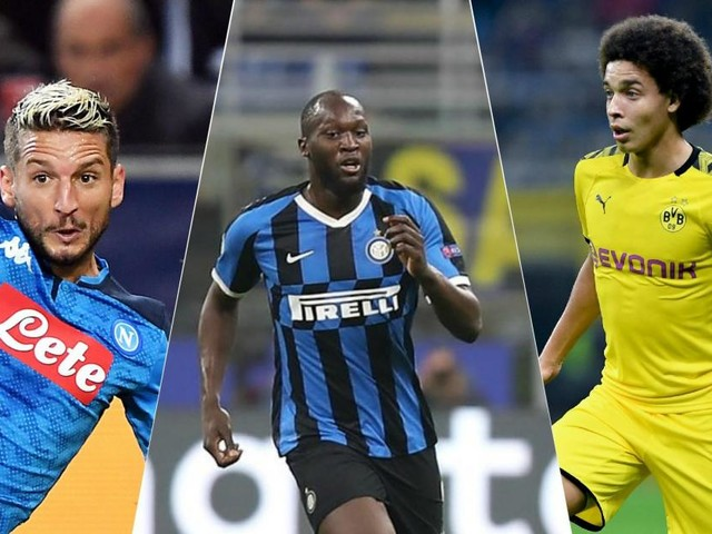 Ligue des champions: Mertens plante un doublé pour Naples, Lukaku et l'Inter battent Witsel et Hazard (vidéos)
