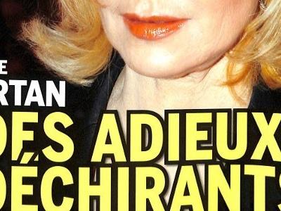 Sylvie Vartan, drame, des adieux déchirants (photo)