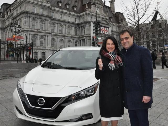 La Ville de Montréal achète 100 Nissan LEAF 2018