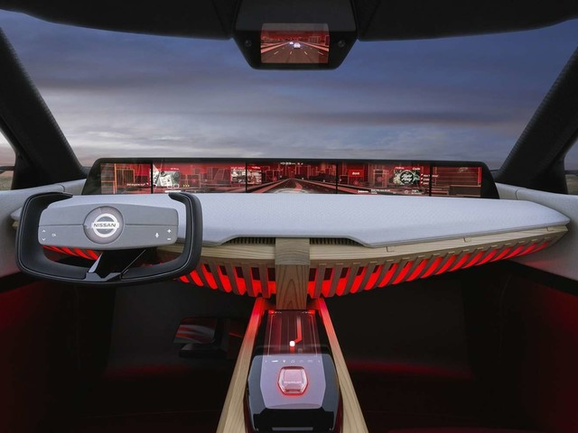Nissan Xmotion : quand la voiture laisse place aux écrans