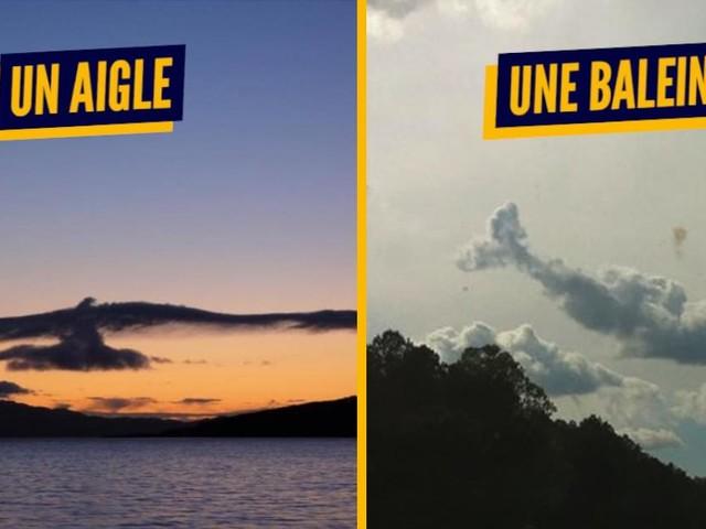 Top 15 des nuages qui ressemblent à truc stylés, on a tous joué à ça