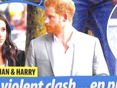 Prince Harry, Meghan Markle, violente altercation en public, la raison (photo)