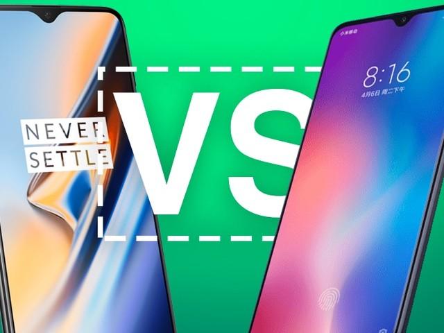 Xiaomi Mi 9 vs OnePlus 6T : comparatif, lequel est le meilleur ?