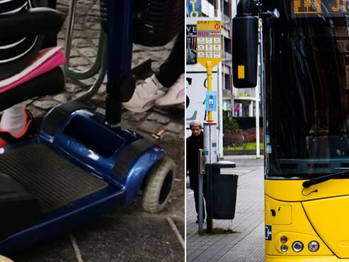 """""""Un handicapé interdit de prendre le bus avec sa voiturette"""": les personnes à mobilité réduite ont-elles accès facilement au réseau TEC ?"""