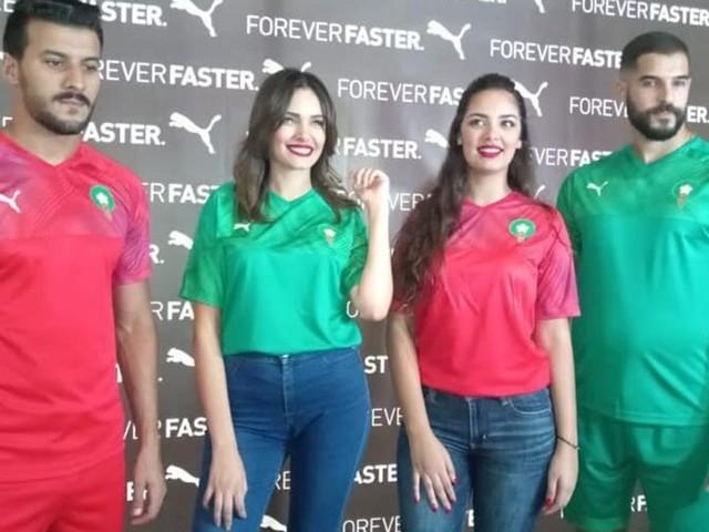 La FRMF et Puma présentent les nouveaux maillots des Lions de l'Atlas