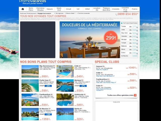 Voyage Vacances Tout Compris : des Séjours Tout Inclus pour des voyage pas cher All Inclusive