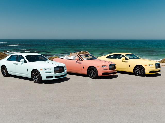 Rolls-Royces, des couleurs pastel pour les Ghost, Wraith et Dawn