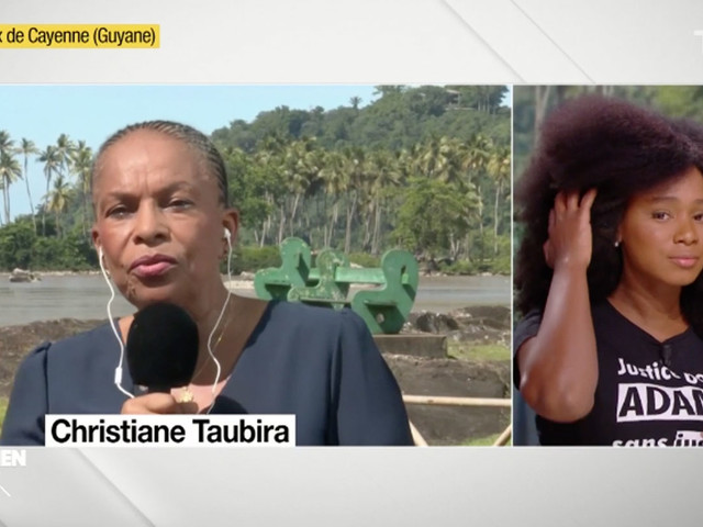 Les mots fort de Christiane Taubira pour la famille d'Adama Traoré