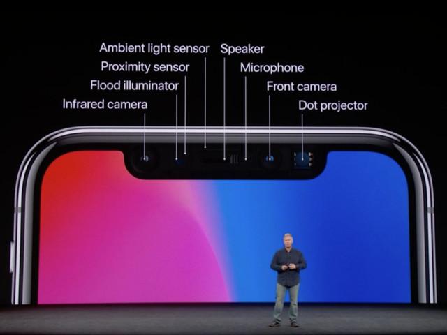 Ce brevet de Microsoft montre comment l'encoche de l'iPhone X pourrait être améliorée