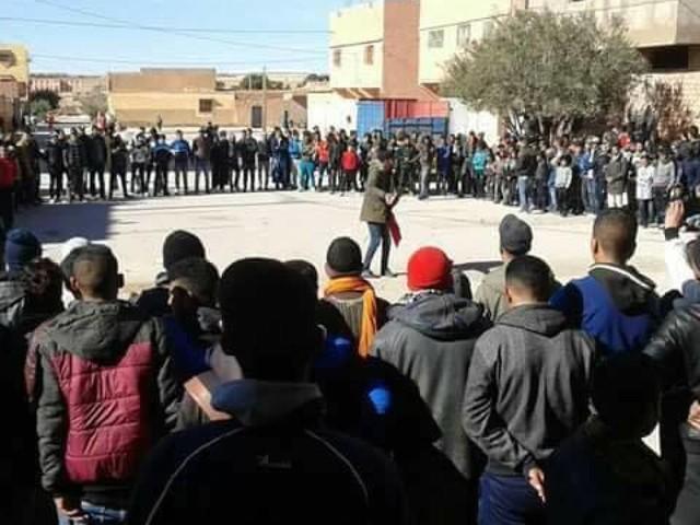 Tendrara: Les familles des manifestants condamnés comptent tenir un sit-in aujourd'hui