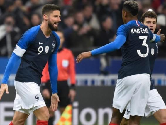 Amical : Les Bleus terminent 2018 sur une victoire contre l'Uruguay