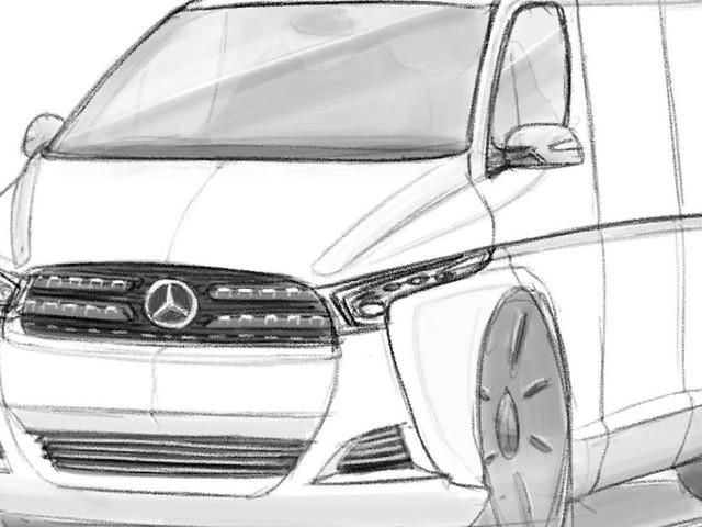 Le Croquis de la semaine, Mercedes-Benz Sprinter 4