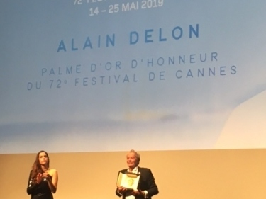 Festival de Cannes 2019 - Master class d'Alain Delon et remise de sa Palme d'or d'honneur. Récit.