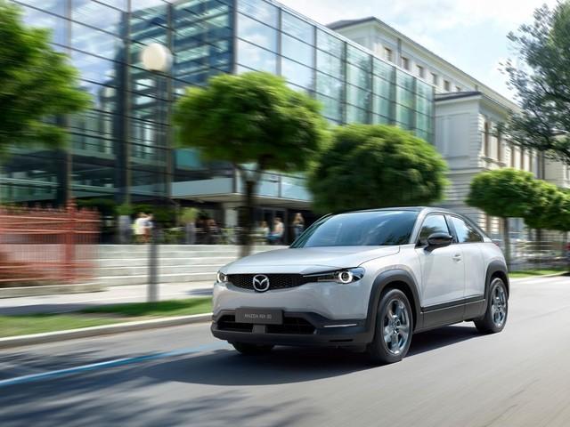 Mazda MX-30 : le premier véhicule électrique de Mazda