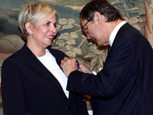 L'experte en finance et patronne de l'AMMC, Nezha Hayat, décorée par le roi Felipe VI d'Espagne