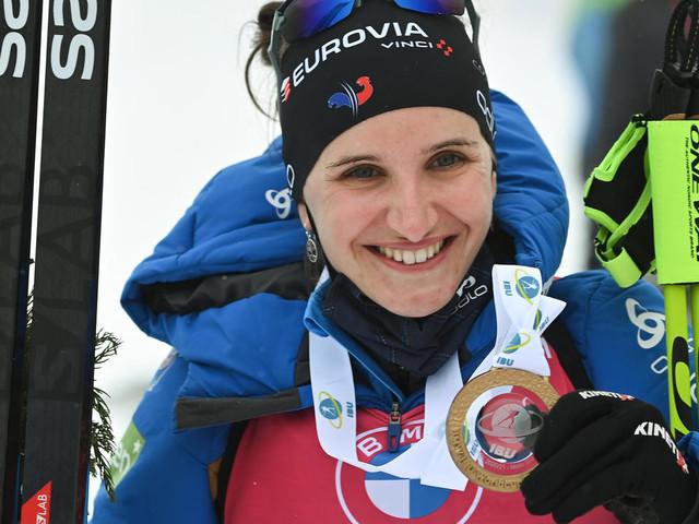 Biathlon: Julia Simon remet ça