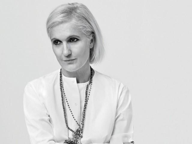 Maria Grazia Chiuri, la directrice artistique de Dior moderne et féministe