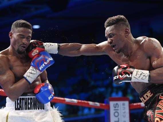 Boxe - Super-moyens : Christian Mbilli efficace face à KeAndre Leatherwood