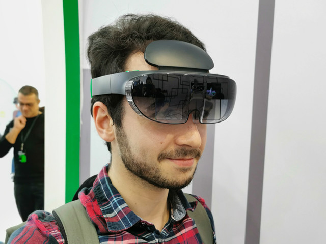 Oppo dévoile son casque de réalité augmentée, nous l'avons essayé