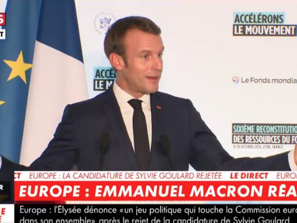 VIDEO - Joue-la comme Sarko : quand Macron tente de cacher son seum après le rejet de Goulard à Bruxelles
