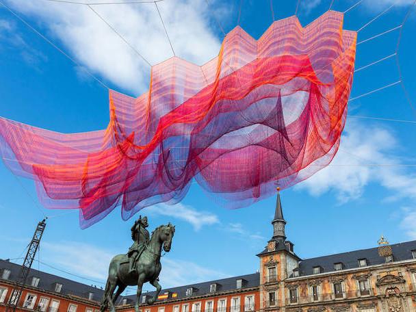 Fascinating Installation In Madrid