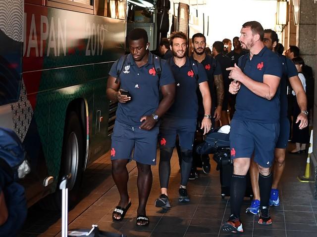 Rugby - Coupe du monde 2019 - Le XV de France a pris la route pour Oïta