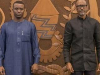 Paul Kagame reçoit un Envoyé spécial du Tchad
