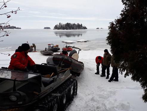 Canada: les corps de 4 Français, disparus en motoneige, restent introuvables