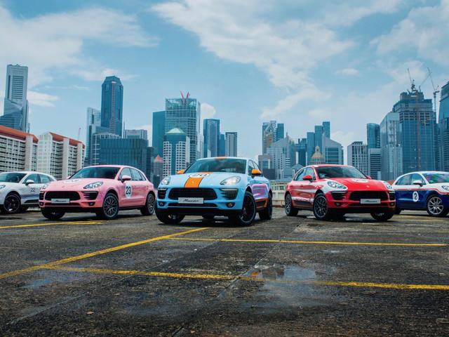 Diaporama : des livrées de légendes pour le Porsche Macan