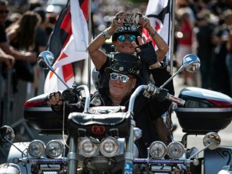 A Morzine, Harley Davidson fait se côtoyer la légende et l'électrique