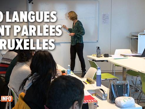 La région bruxelloise veut rendre tous les habitants de 18 ans trilingues: les langues y sont un atout énorme pour travailler