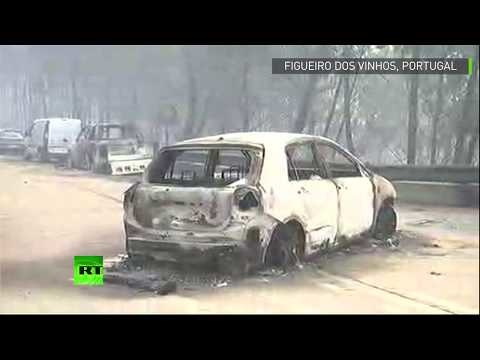 Le Portugal en proie à l'incendie le plus meurtrier de son histoire