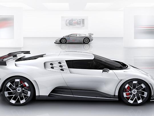 Bugatti Centodieci, seulement 10 exemplaires de cette hypersportive