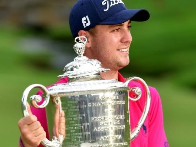 Golf: une première pour Thomas lors du Championnat PGA, Spieth ne battra pas Woods