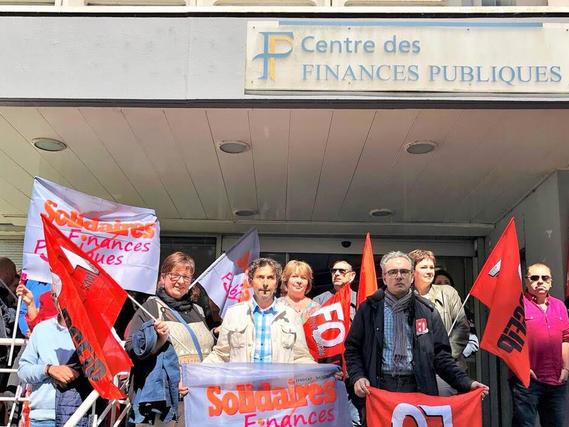 Brève - Finances publiques en grève