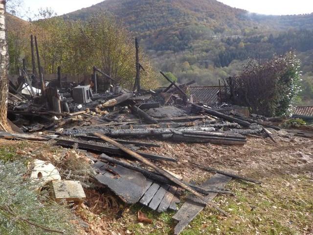 Erp : une maison détruite par le feu