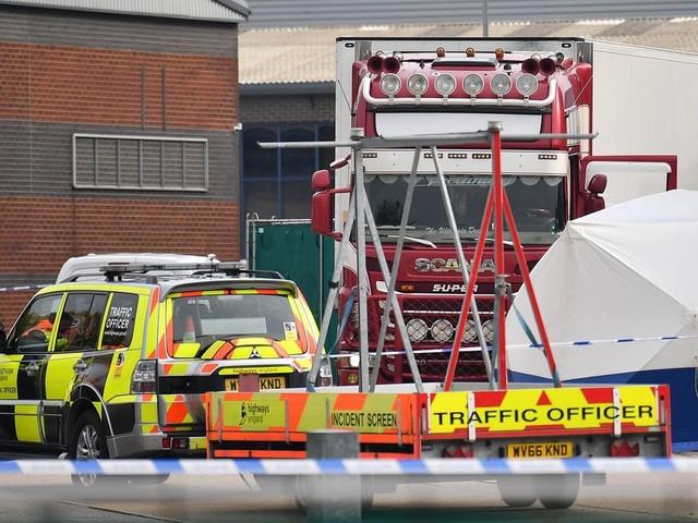 Près de Londres, 39 corps retrouvés dans un camion en provenance de Bulgarie