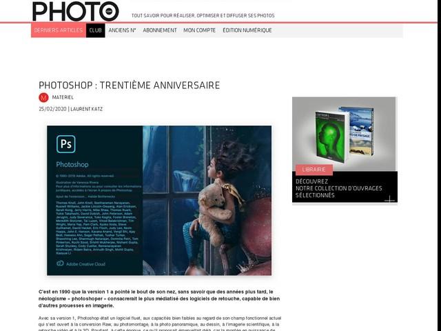 Photoshop : trentième anniversaire