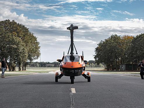 Une voiture volante reçoit l'autorisation de circuler aux Pays-Bas (vidéo)