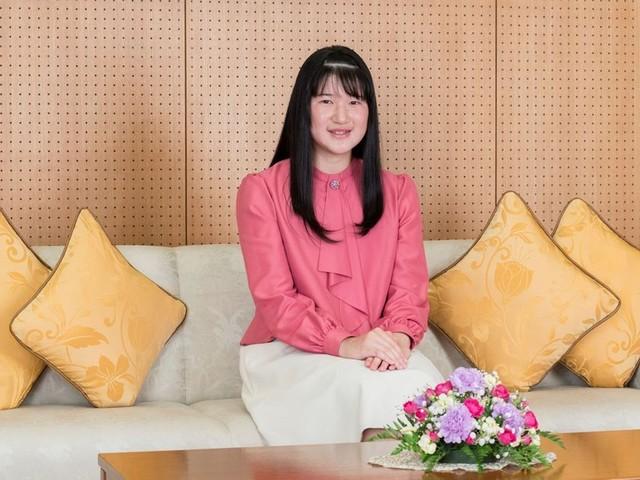 La princesse Aiko, la fille de l'empereur du Japon, a 18 ans