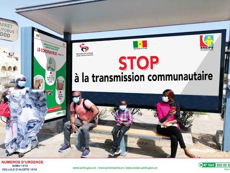 Covid-19 : la transmission communautaire prend pied au Sénégal