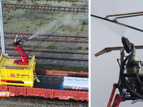 Voici la nouvelle solution testée par Infrabel pour réduire l'impact du givre sur les trains (vidéo)