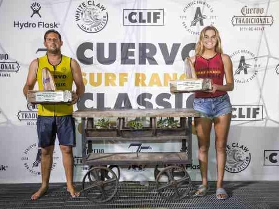 Longboard: Soleil Errico et Justin Quintal illuminent le Surf Ranch