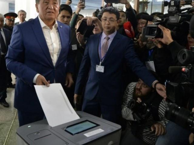 Kirghizstan: l'adversaire du vainqueur de la présidentielle appelle au calme