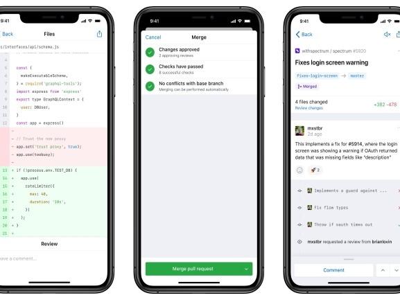 GitHub débarque sur iOS et bientôt sur Android