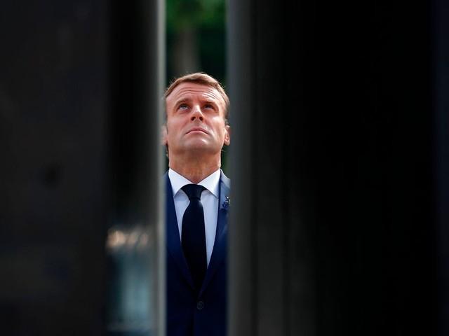 Macron conclut l'année De Gaulle à Colombey-les-deux-Eglises