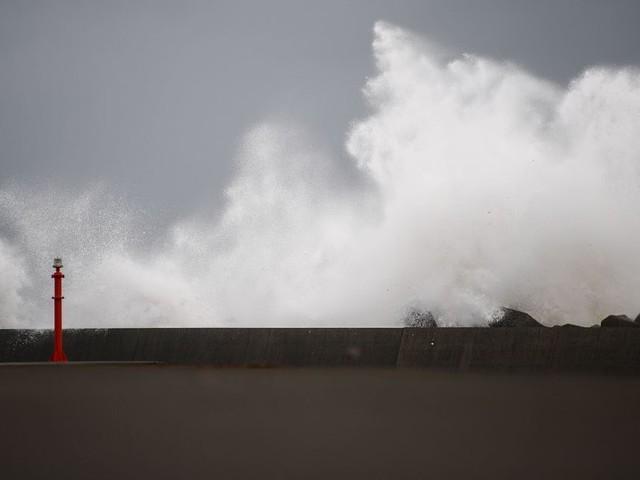 Le typhon Haishen arrive en Corée du Sud avec des rafales de près de 200km/h